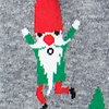 Heather Gray Carded Cotton Sexy and I Gnome It