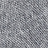 Heather Gray Carded Cotton Solid Heather Gray No-Show Sock
