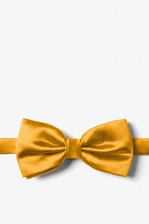 Honey Yellow Pre-Tied Bow Tie