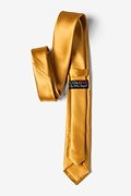 Honey Yellow Skinny Tie