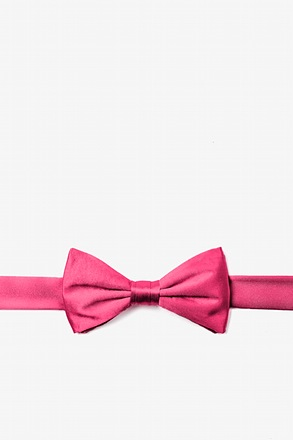 Hot Pink Bow Tie For Boys