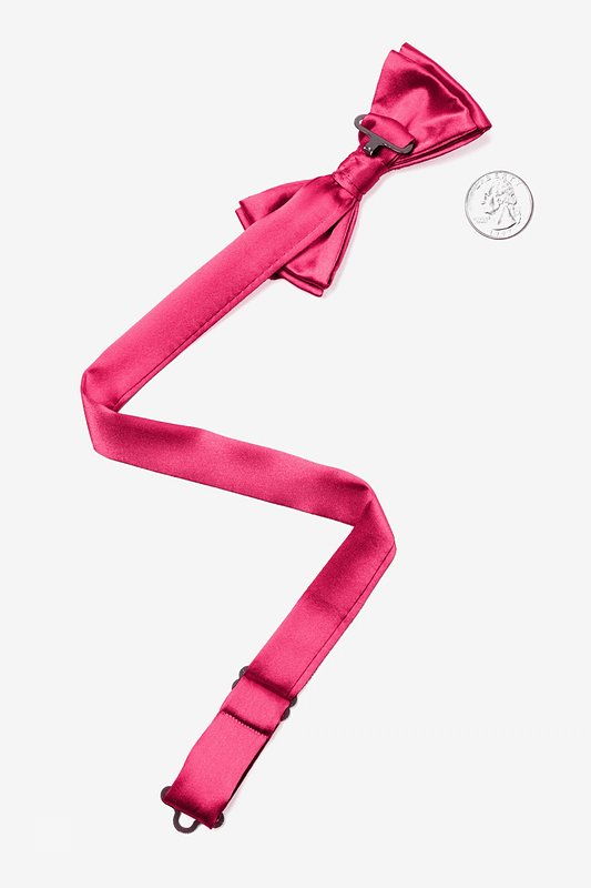 Hot Pink Bow Tie For Boys Photo (1)