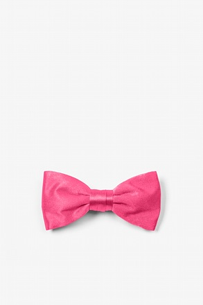 Hot Pink Bow Tie For Infants