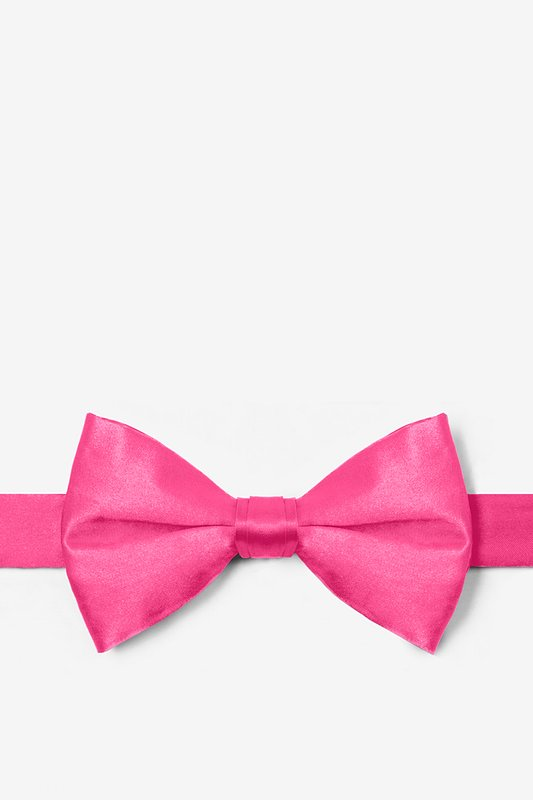 Hot Pink Pre-Tied Bow Tie Photo (0)