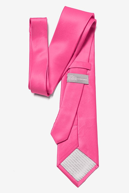 Hot Pink Tie Photo (2)