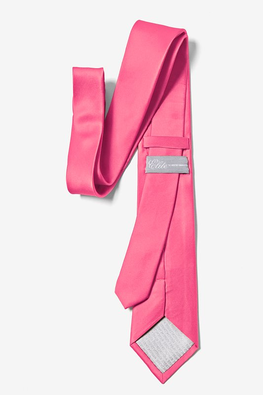 Hot Pink Tie For Boys