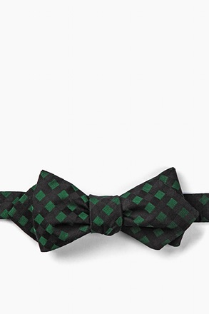 Alton Diamond Tip Bow Tie