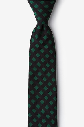 _Alton Hunter Green Skinny Tie_