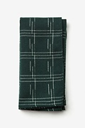 Hunter Green Cotton Escondido Pocket Square