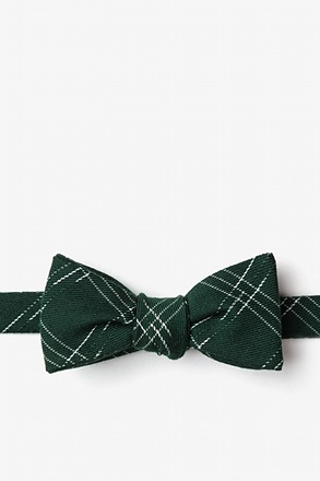 Escondido Hunter Green Skinny Bow Tie