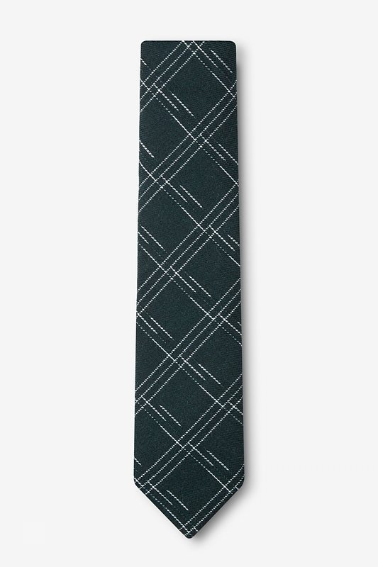Escondido Hunter Green Skinny Tie