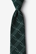 Hunter Green Cotton Escondido Tie