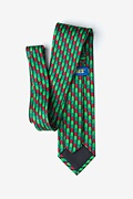 Christmas Tree Abstract Extra Long Tie Photo (1)