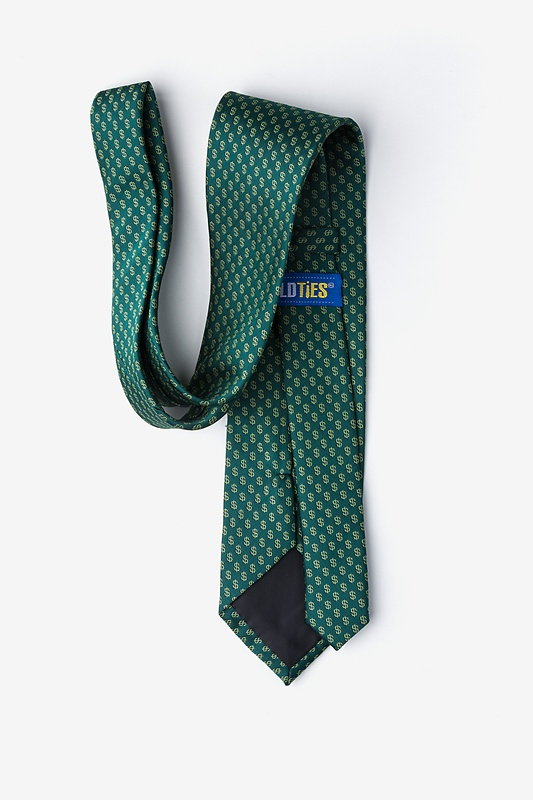 Dollar Signs Extra Long Tie Photo (1)