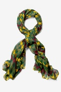 Veronica Hunter Green Scarf by Scarves.com