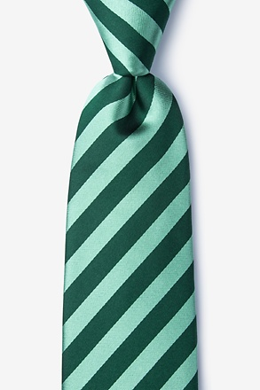 Bandon Hunter Green Extra Long Tie