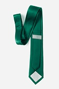 Hunter Green Skinny Tie