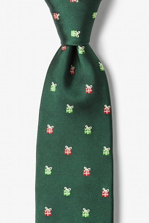 _That's a Wrap Hunter Green Tie_