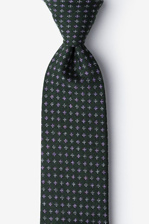 Hunter Green Lyon Tie