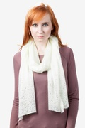 Rhinestone Sparkle Knit Scarf by Scarves.com