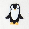 Ivory Carded Cotton Penguin are Chill