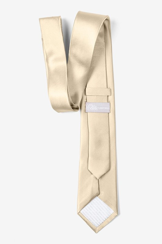 Ivory Cream Tie For Boys