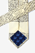 Declaration of Independence Ivory Tie Photo (3)