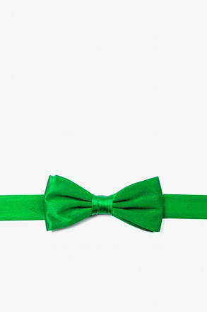 Kelly Green Bow Tie For Boys