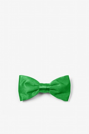 Kelly Green Bow Tie For Infants