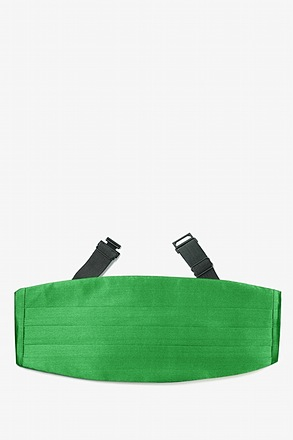 _Kelly Green Cummerbund_