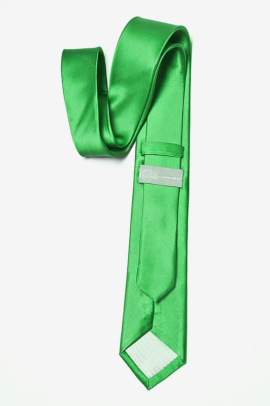 Kelly Green Extra Long Tie