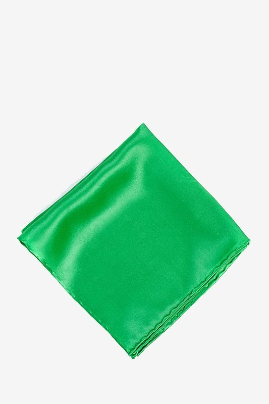 Kelly Green Pocket Square Photo (0)