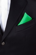 Kelly Green Pocket Square Photo (2)