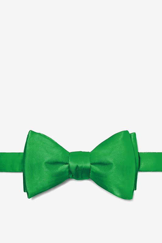 Kelly Green Self-Tie Bow Tie Photo (0)