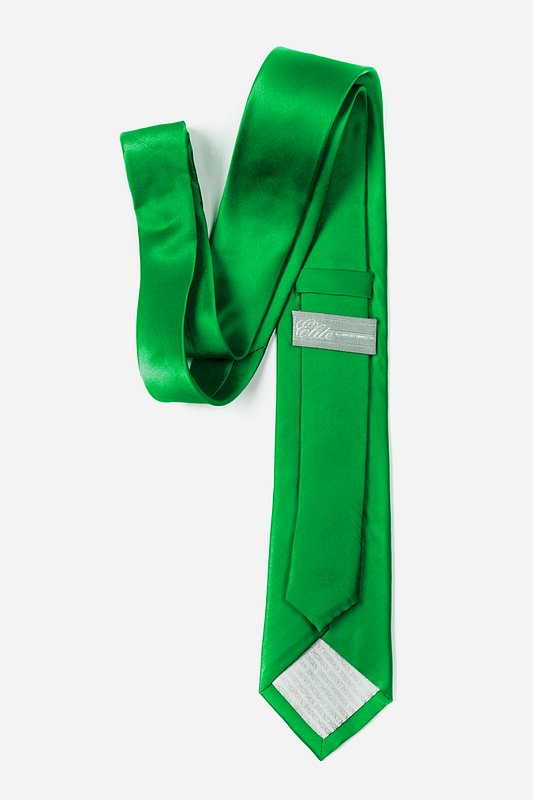 Kelly Green Skinny Tie Photo (2)