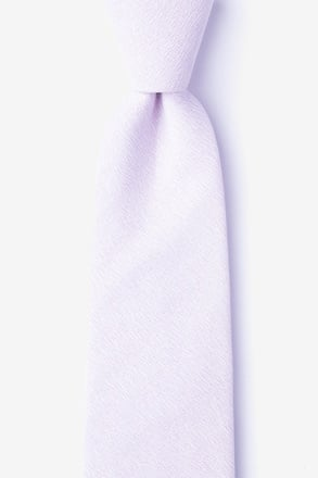 _Tiffin Lavender Extra Long Tie_