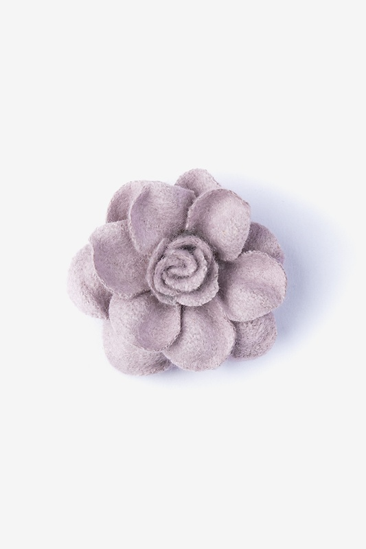 Begonia Lavender Lapel Pin Photo (0)