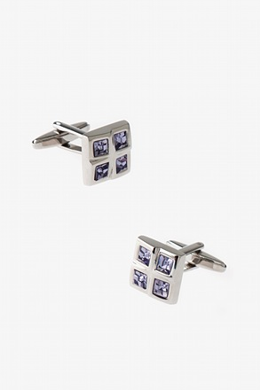 Divided Square Cufflinks