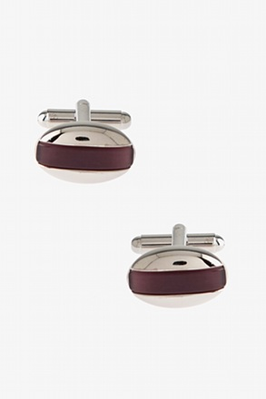 Oval Bar Cufflinks