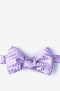 Lavender Silk Groote Butterfly Bow Tie