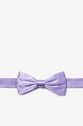 Lavender Bow Tie For Boys