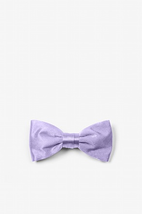 Lavender Bow Tie For Infants
