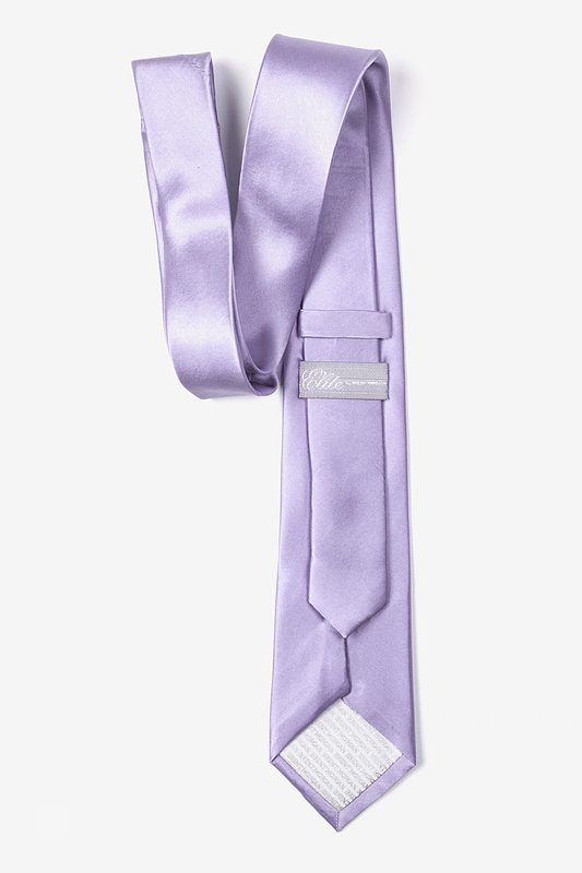 Lavender Tie For Boys Photo (2)