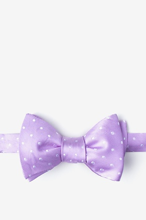 Richards Lavender Self-Tie Bow Tie
