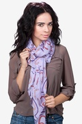 What's Your Number Scarf by Scarves.com