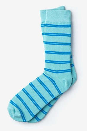 _Culver Stripe Light Blue Sock_