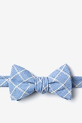 Light Blue Cotton Bisbee Bow Tie