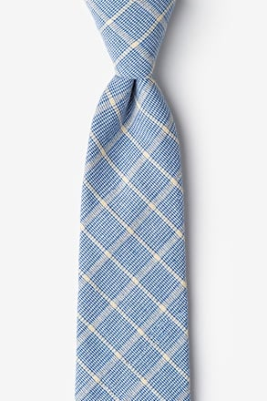 Bisbee Light Blue Extra Long Tie