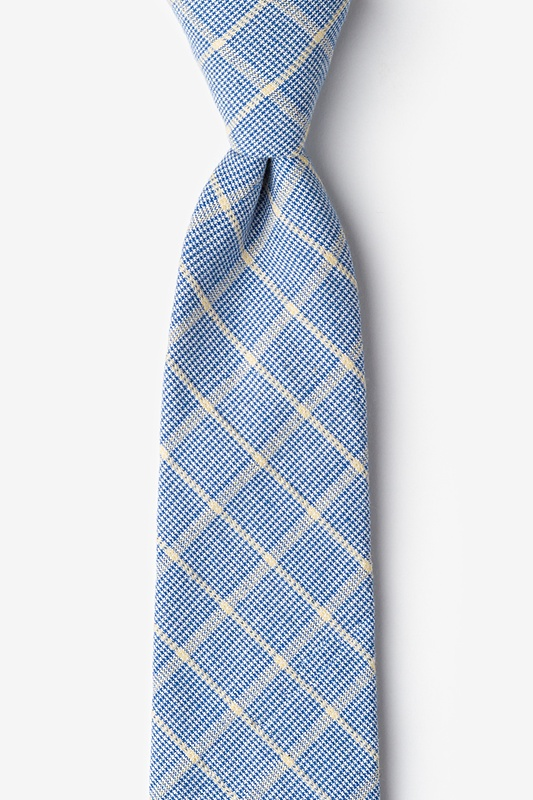 Bisbee Light Blue Extra Long Tie Photo (0)