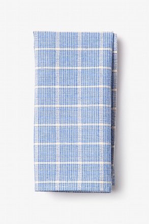 Bisbee Light Blue Pocket Square
